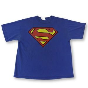 Other - Classic Distressed Super Man T
